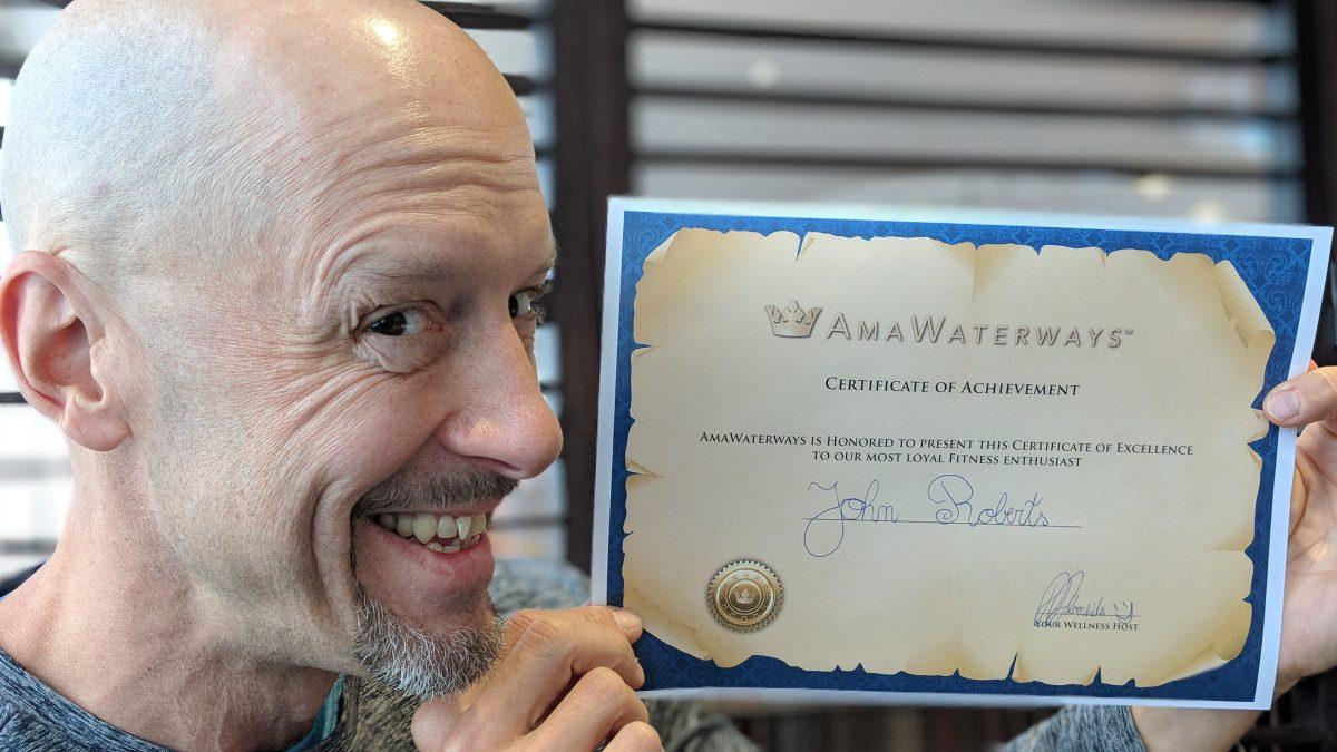 AmaWaterways' New Wellness Program
