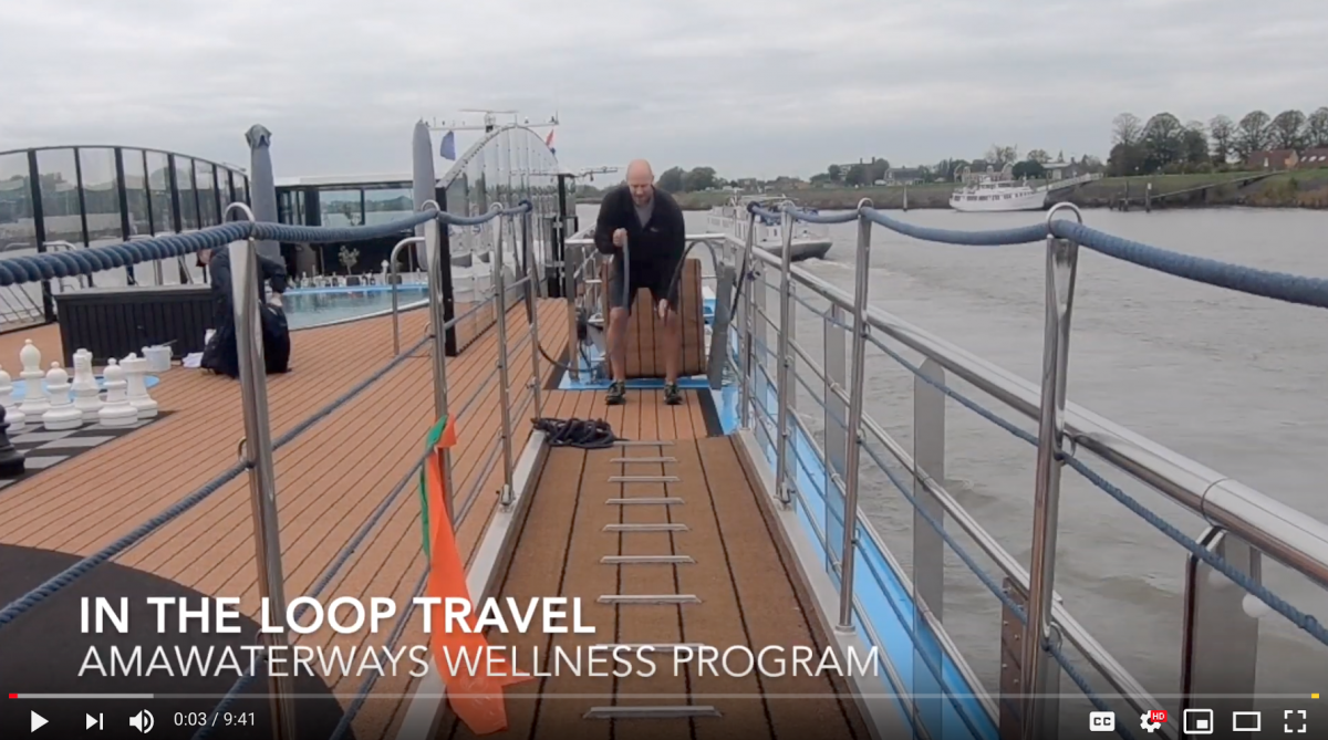 AmaWaterways' New Wellness Program