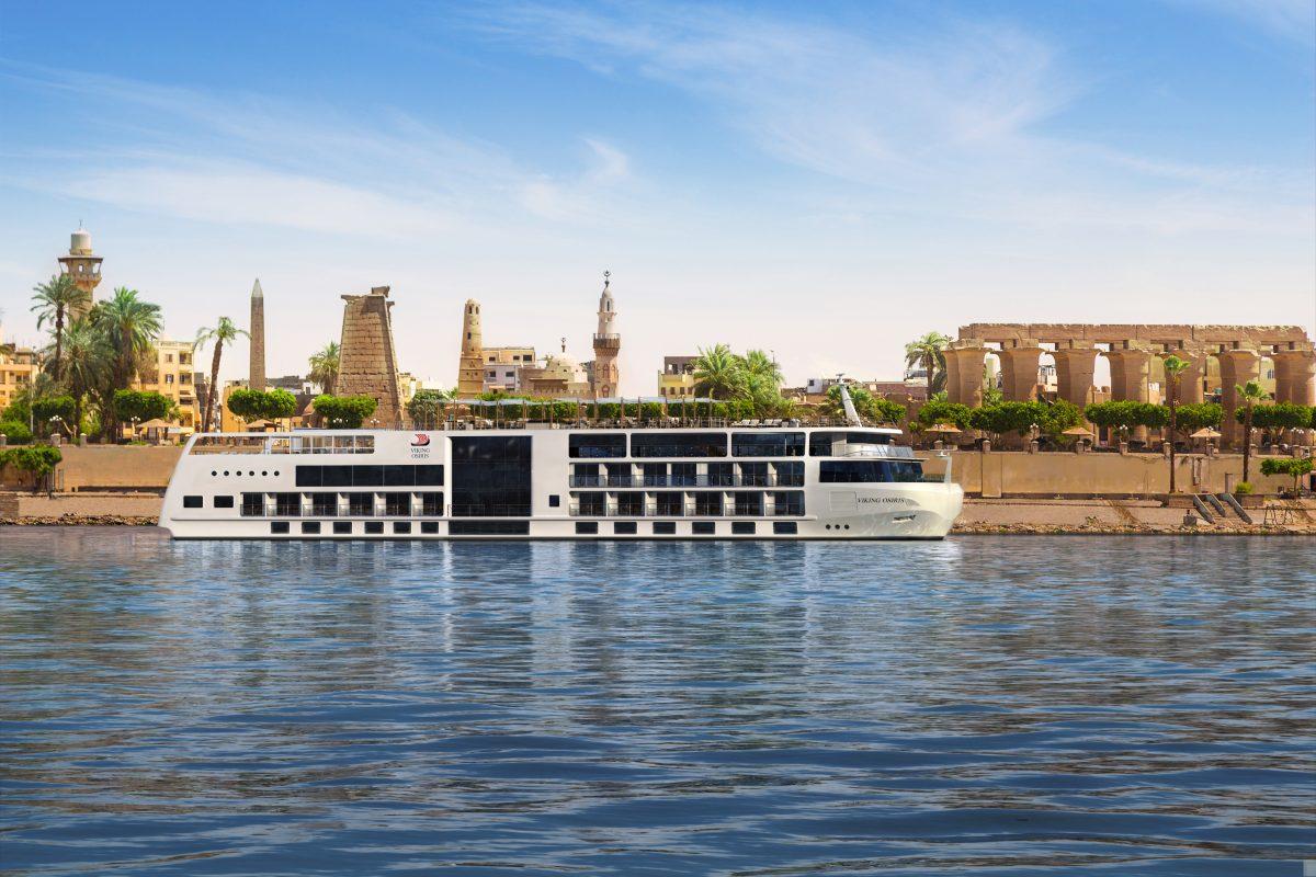 Viking Builds Egypt Riverboat