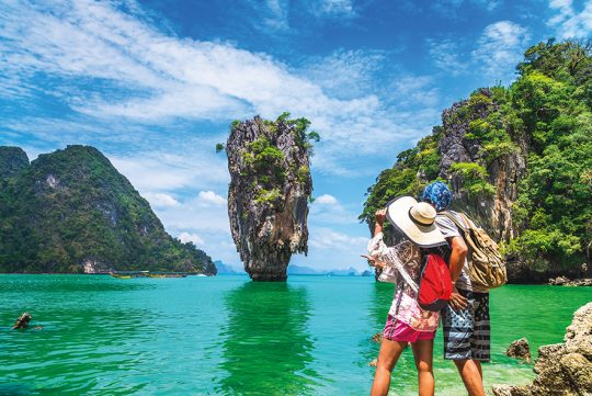 CroisiEurope's New Oceangoing Ship will visit Scenic Phang Nga Bay in Southeast Asia.