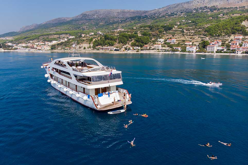 small-ship Croatia cruise offers
