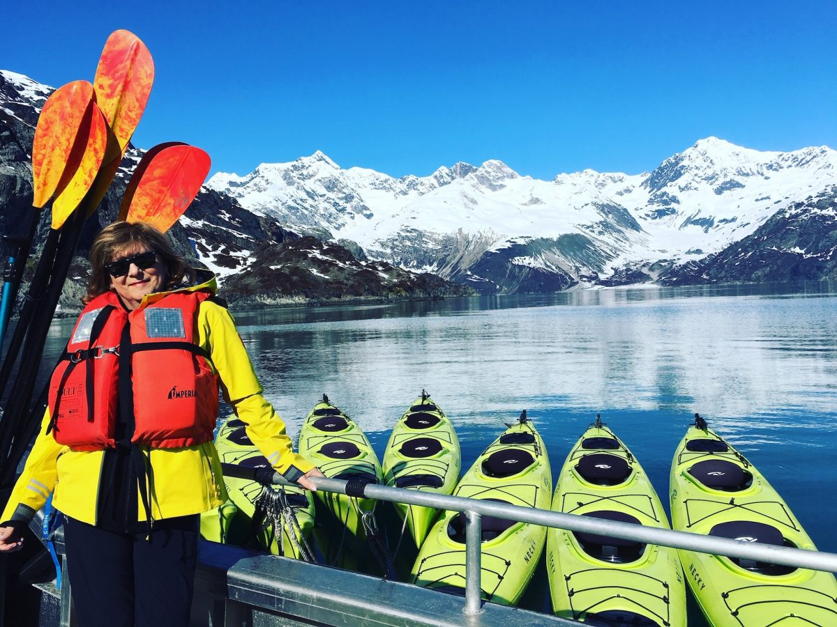 Alaska cruise kayaking