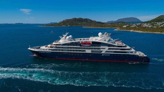 New Ponant Ship Le Dumont d'Urville.