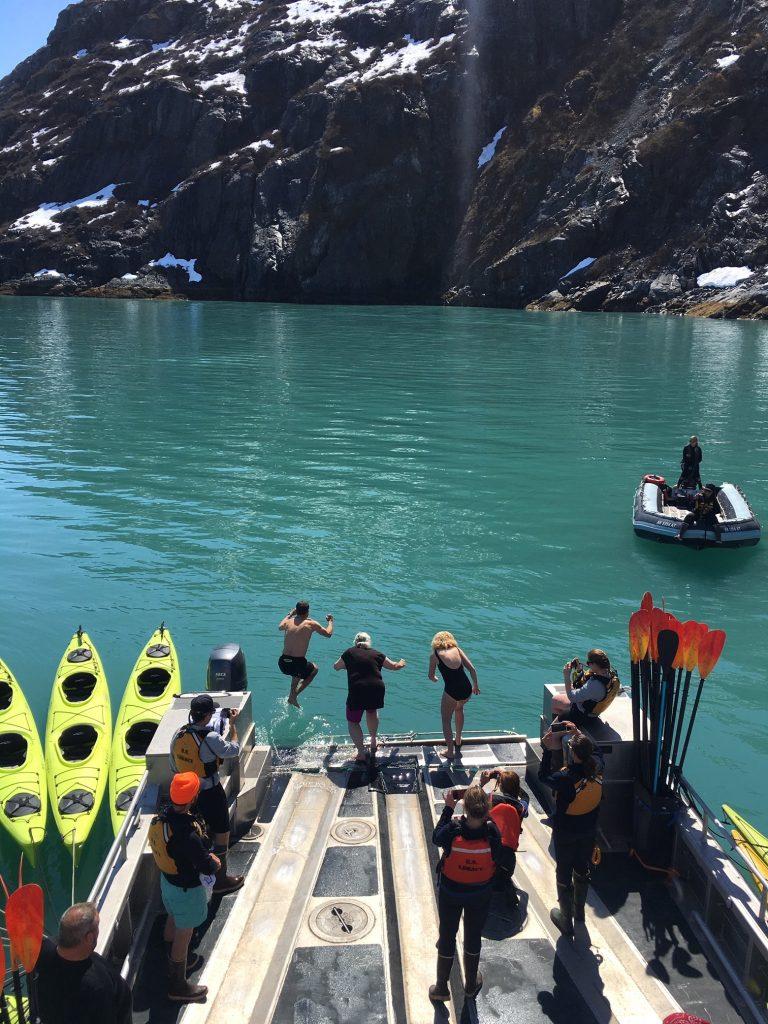 Alaska cruise UnCruise Polar Plunge
