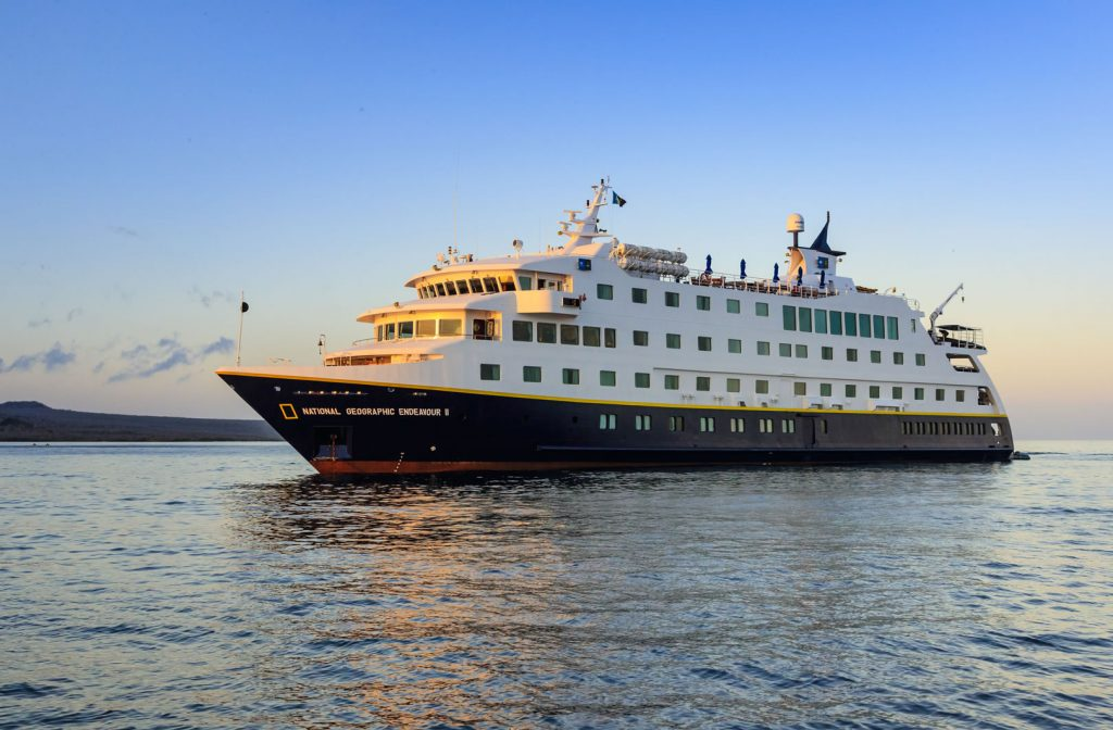Free & Discounted Airfare Offers on the Nat Geo Endeavour in the Galapagos