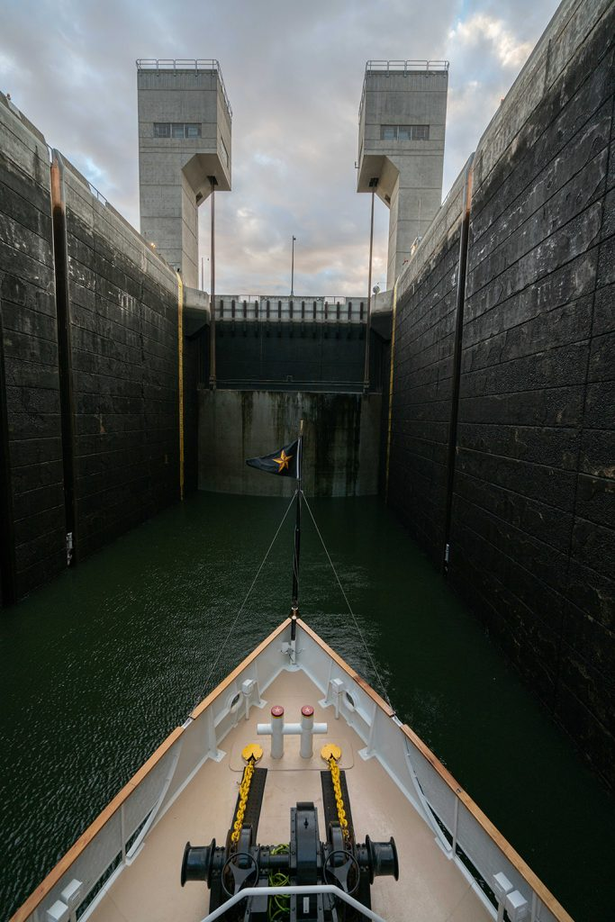 Lock on the Columbia River