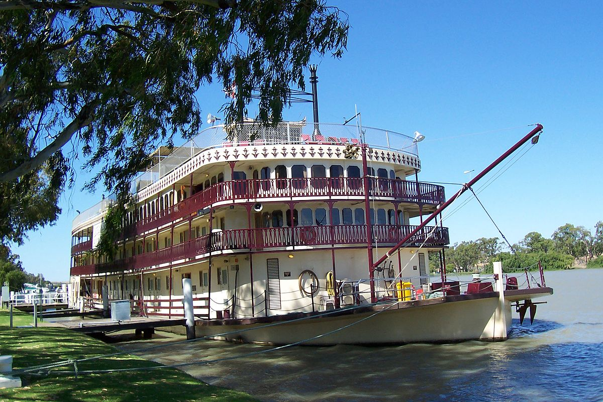 The Murray Princess on the Murray River