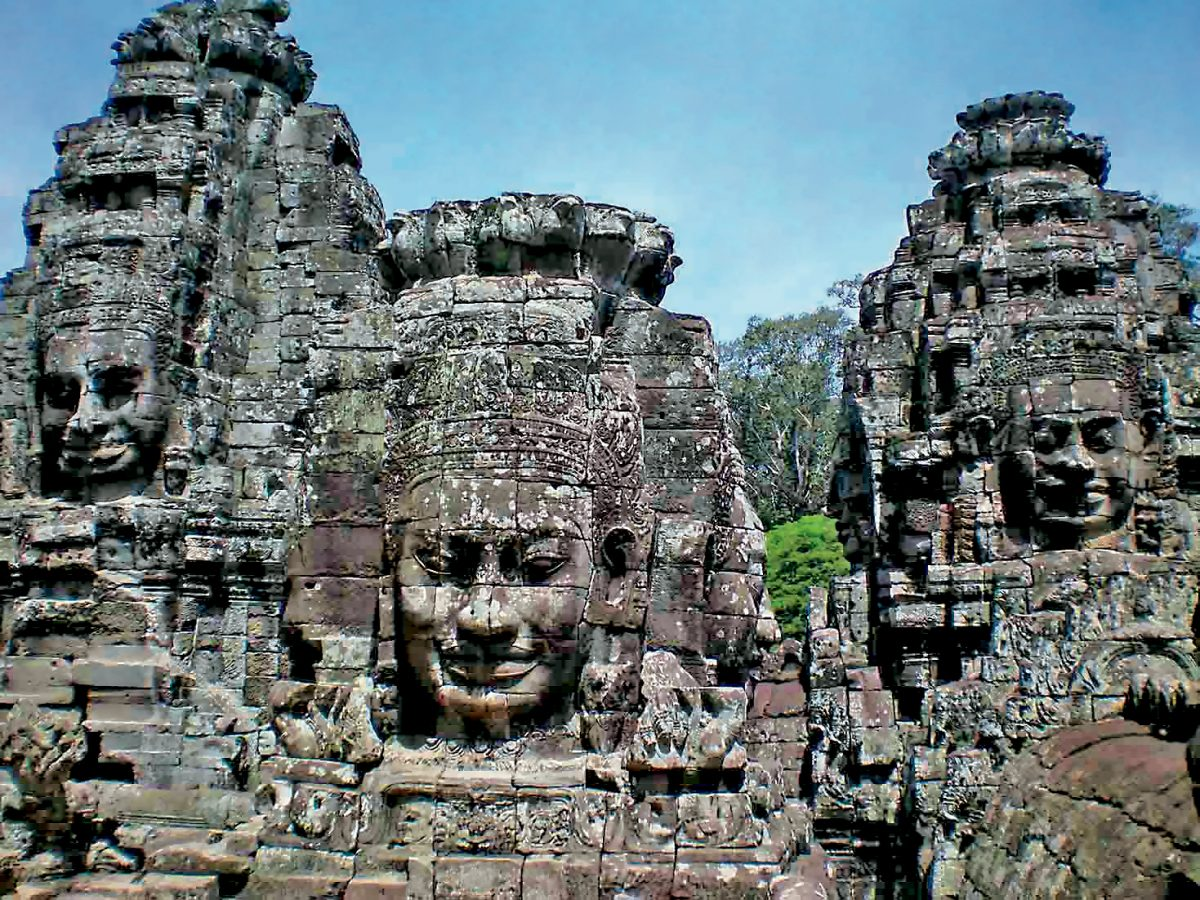 Ankgor Wat is included in many Mekong River Cruises