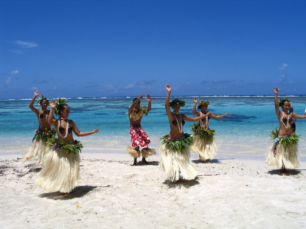 French Polynesia dancers