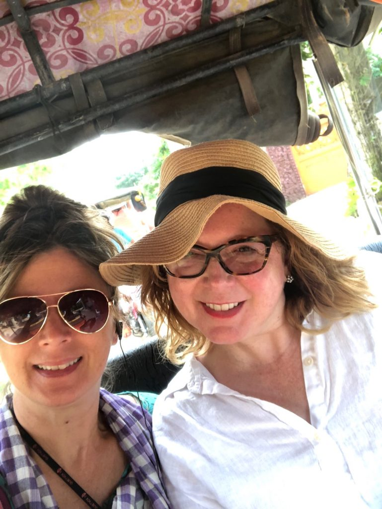 Tuk tuk ride in Cambodia