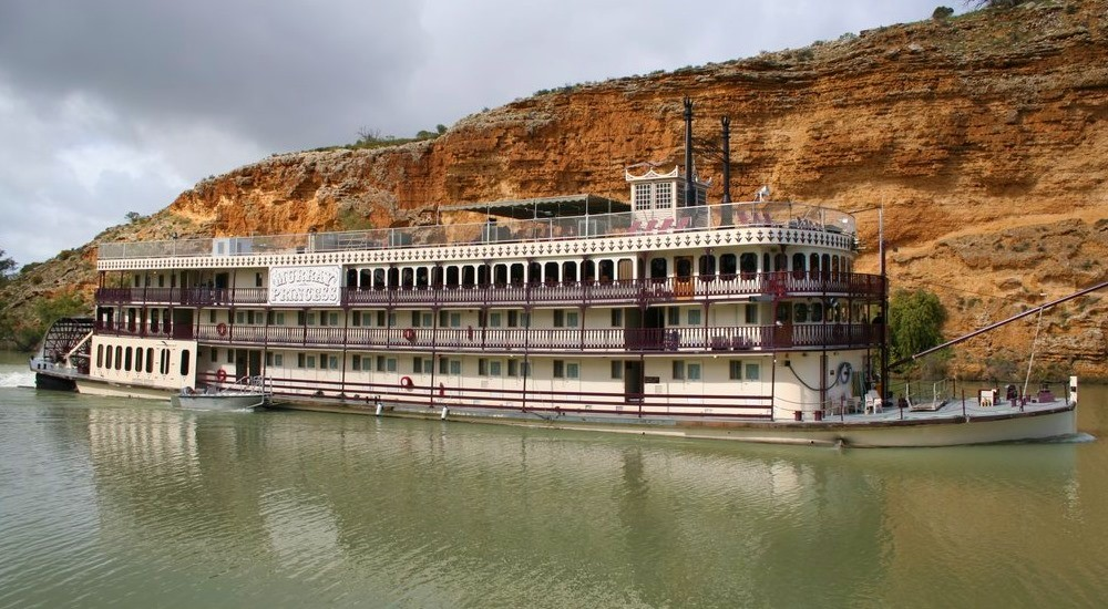 Murray River Steamboat Cruise aboard the historic Marion