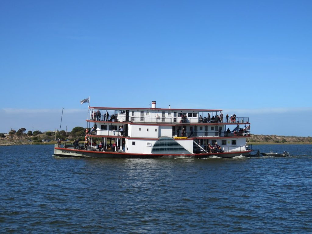 Murray River Steamboat Cruise on the adorable Marion