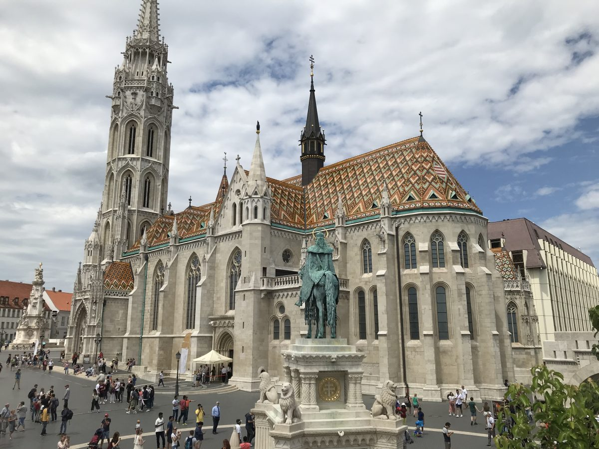 Budapest sights on a Danube River Cruise