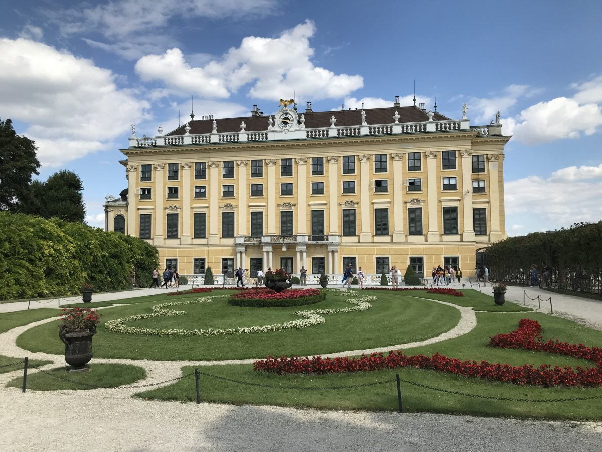 Schönbrunn Palace, on a Danube River Cruise