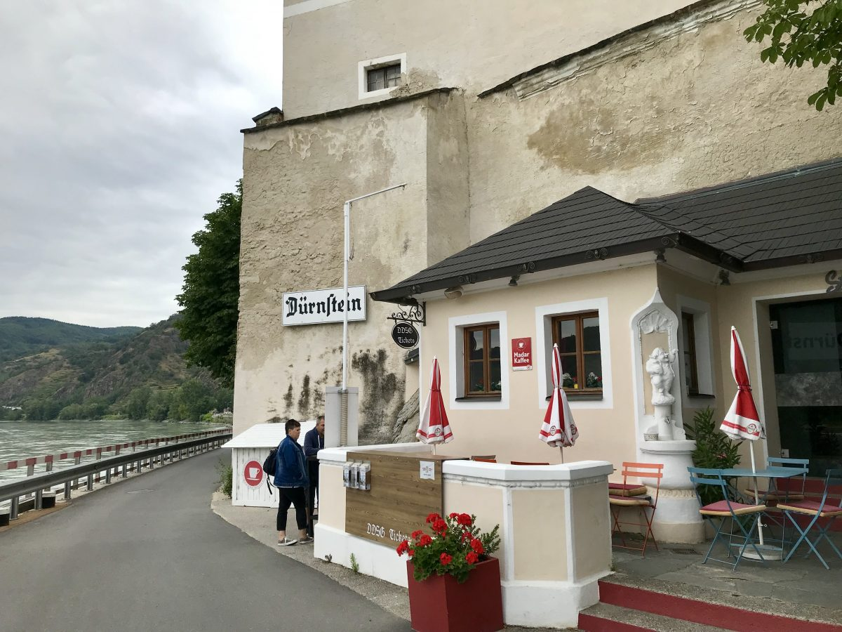Durnstein on a Danube River cruise.