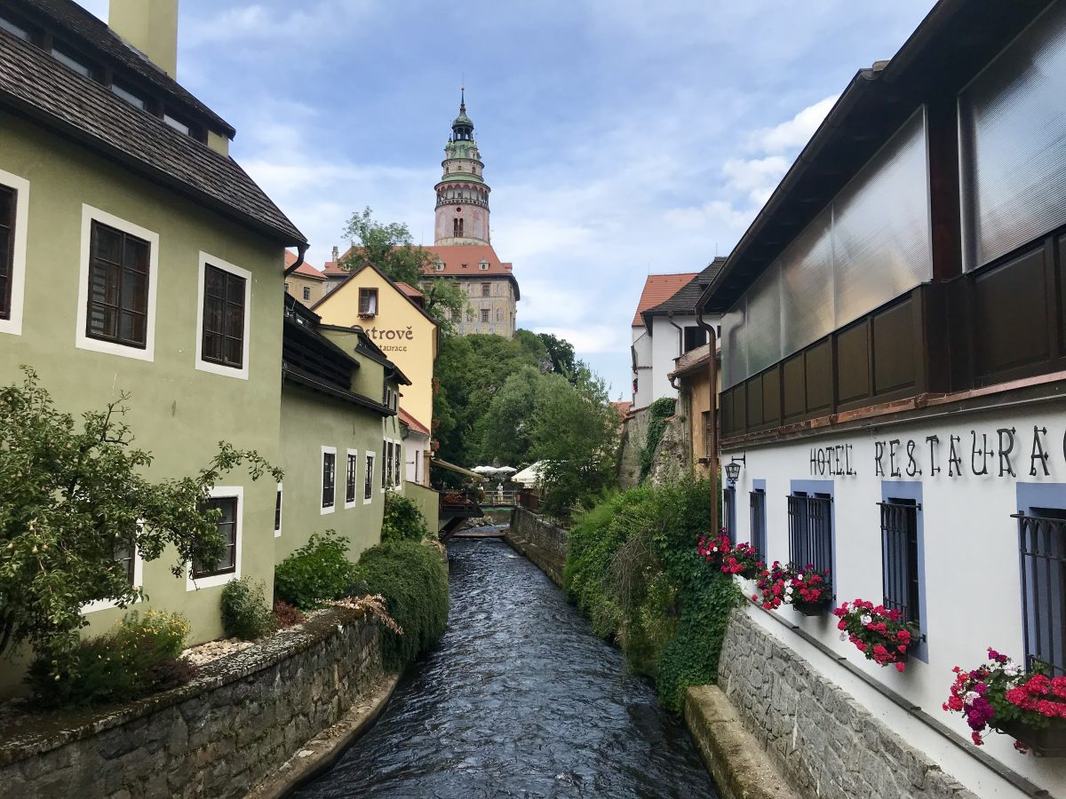 Cesky Krumlov in the Czech Republic on a Danube River Cruise