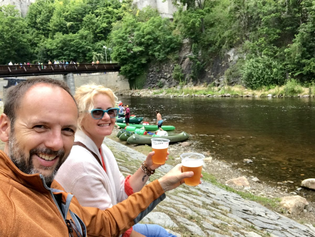Beers by the Moldau River