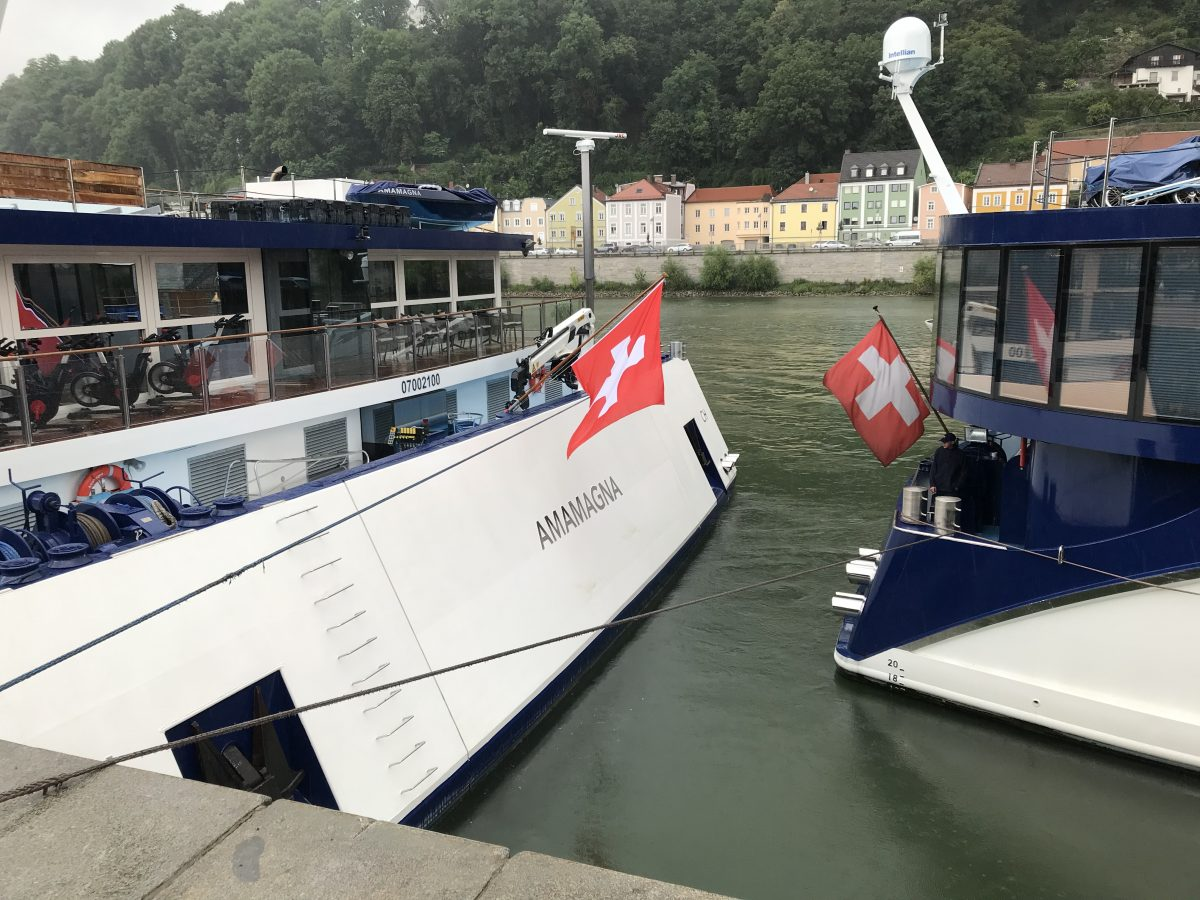 AmaMagna is wider than other river boats