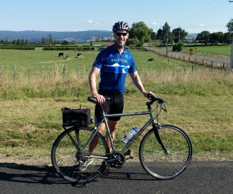 cycling on a new zealand cruise