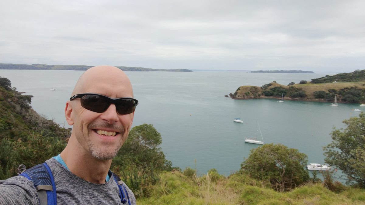 A hike on a New Zealand cruise