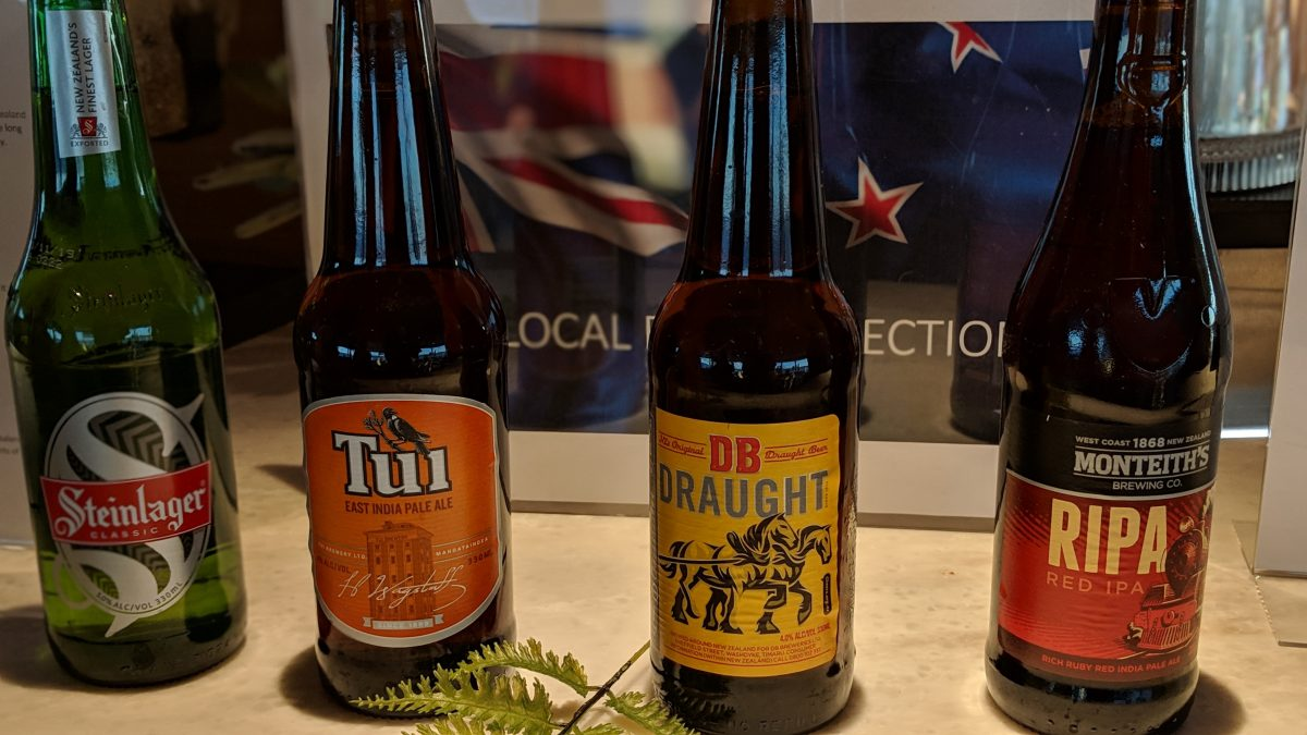 crafts beers on Le Laperouse