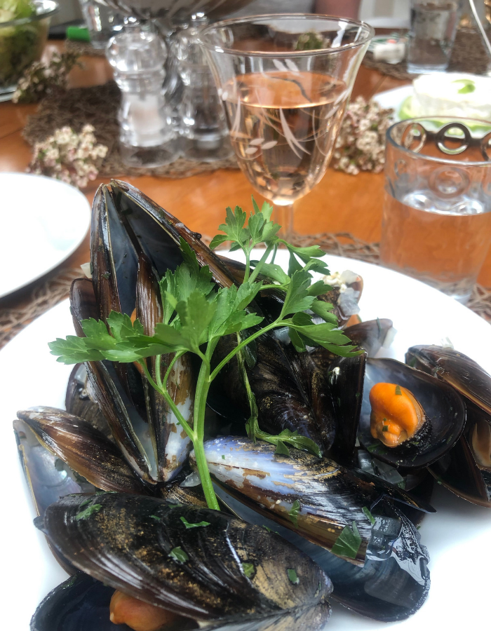 Fresh Mussels - Canal du Midi Luxury Barge Cruise