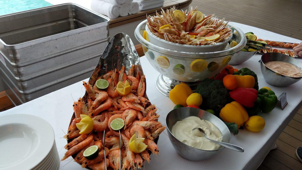 Le Laperouse seafood
