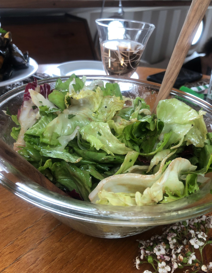 Green Salad - Canal du Midi Luxury Barge Cruise