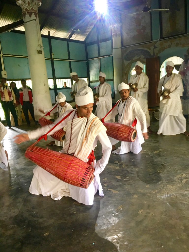 brahmaputra river cruise dancing monks