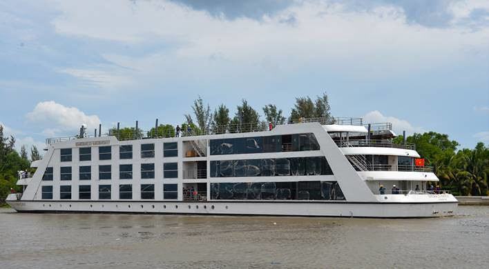 Emerald Harmony is new on the Mekong