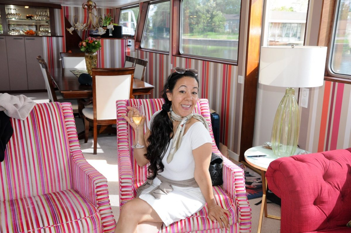 Special offer on barge cruises that include wine