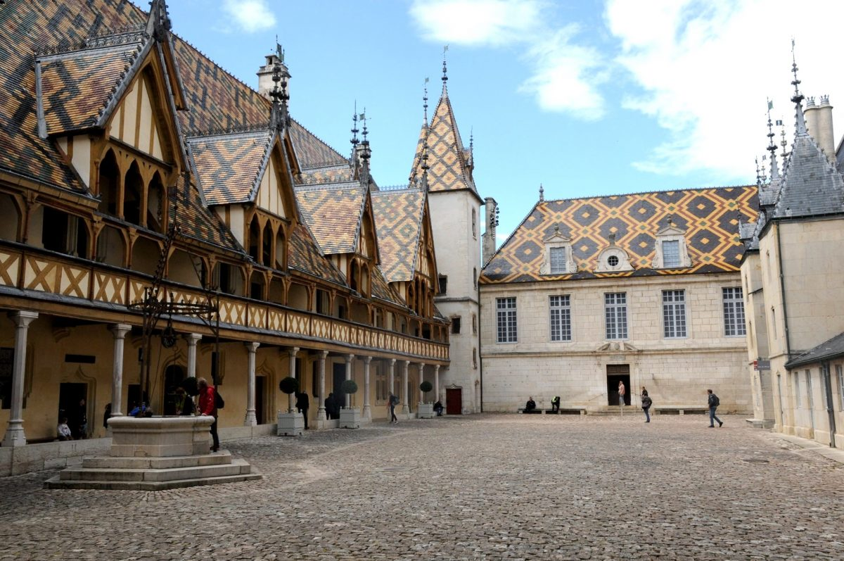 15th-century Hotel Dieu in Burgundy