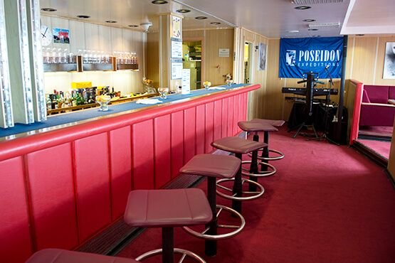 Poseidon Expeditions bar