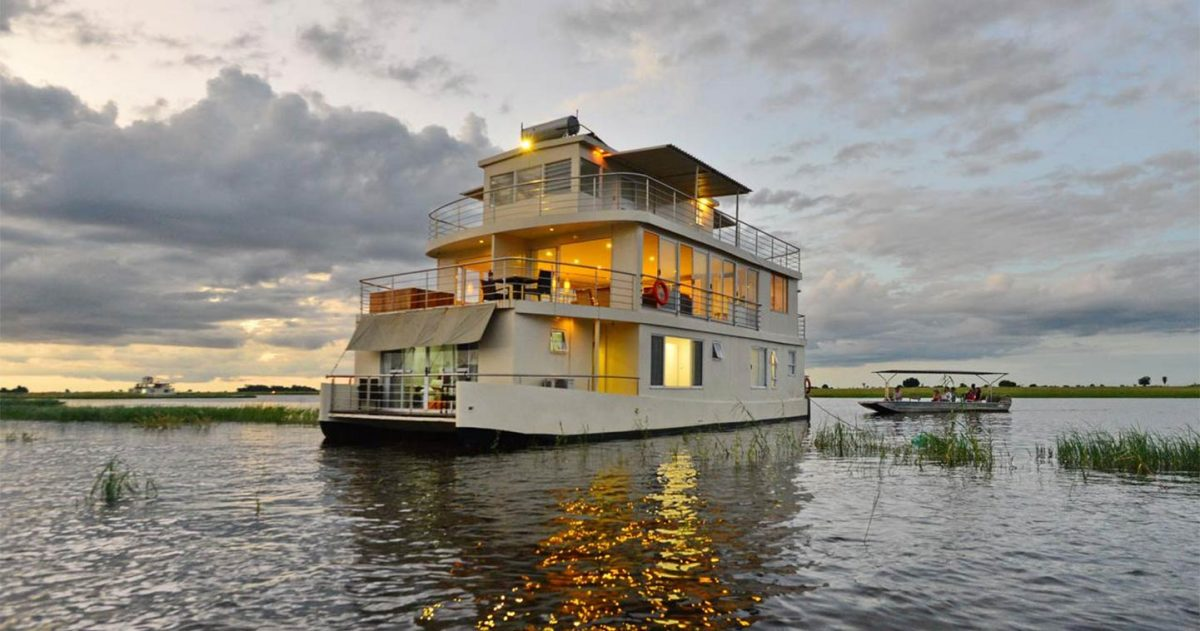Africa River Cruises on Chobe Princess