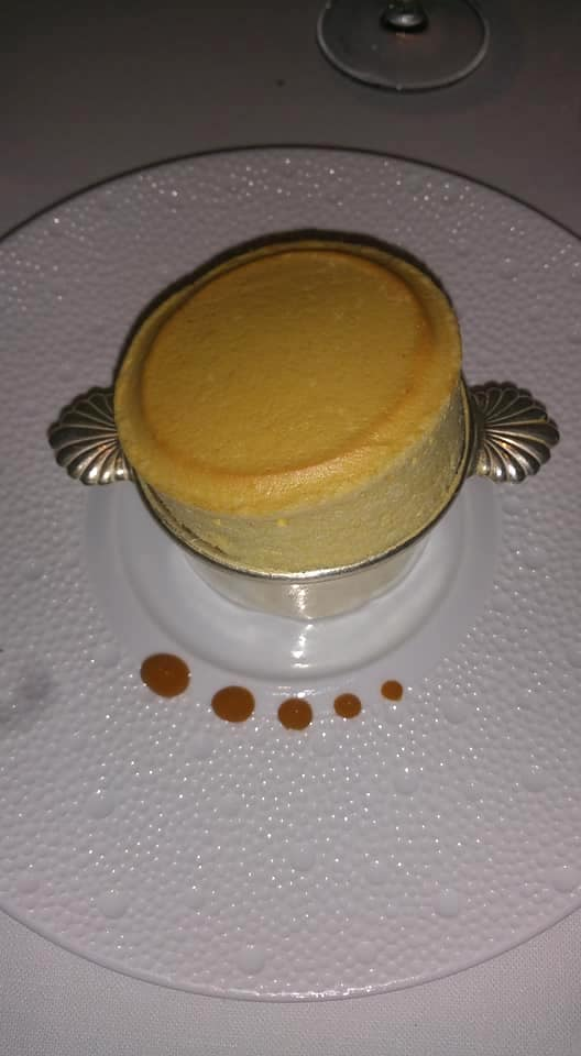 mango soufflé in France