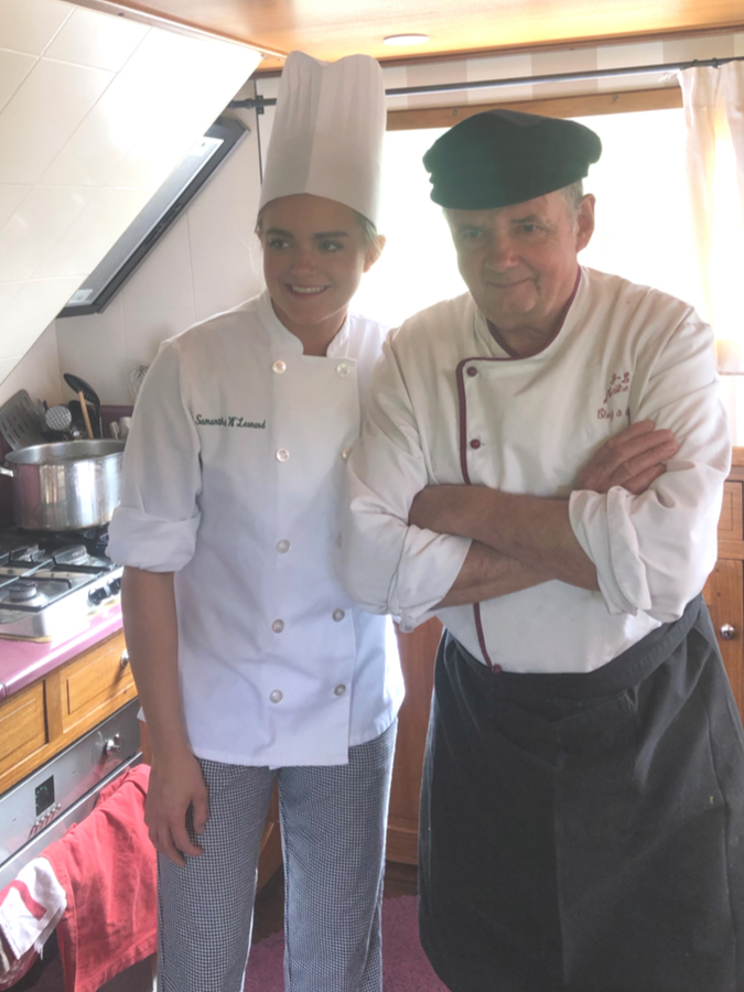 French canal cruising - Chef Jean Luc Poulet