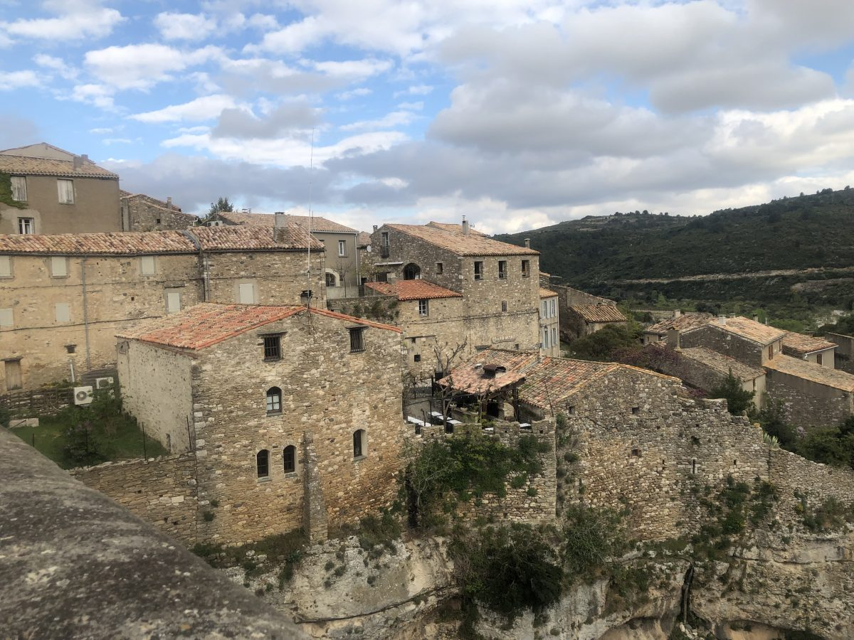 French Canal Cruising- Village of Minerve