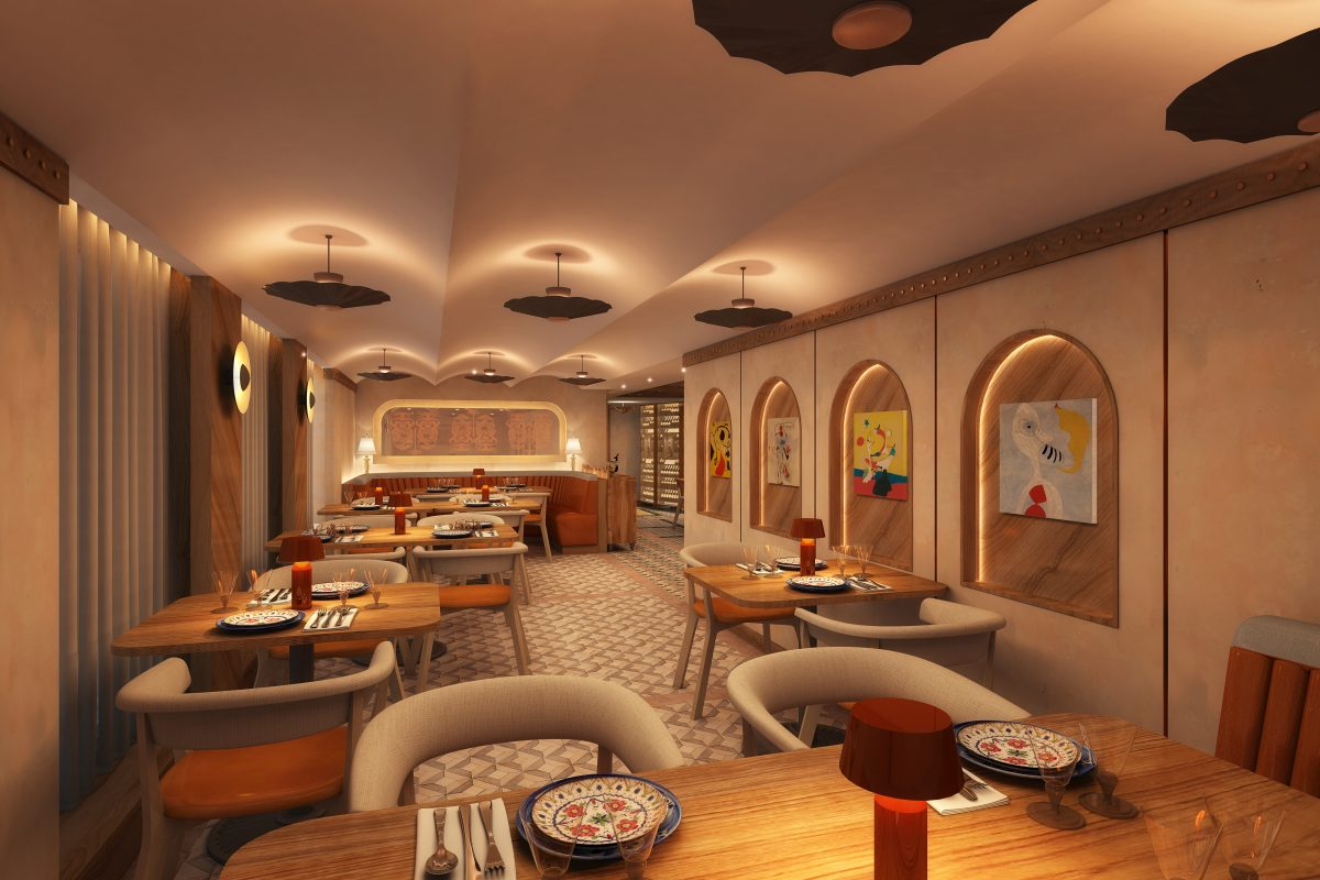 Cuadro 44 restaurant on Windstar's new stretched ships