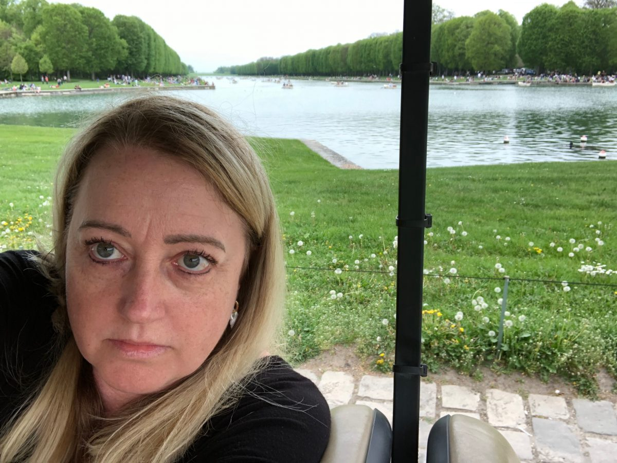 Palace of Versaille - Gardens by Golf Cart