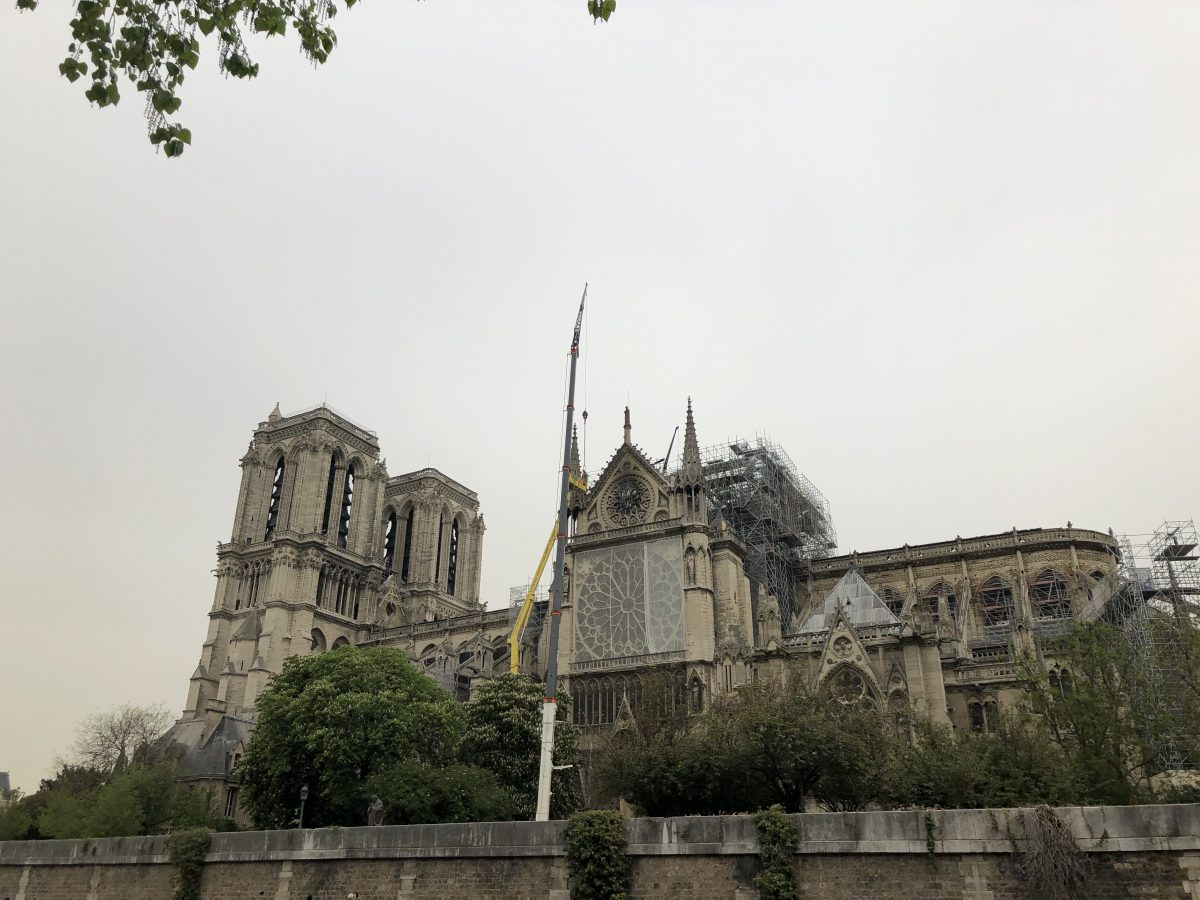 Notre Dame - after fire