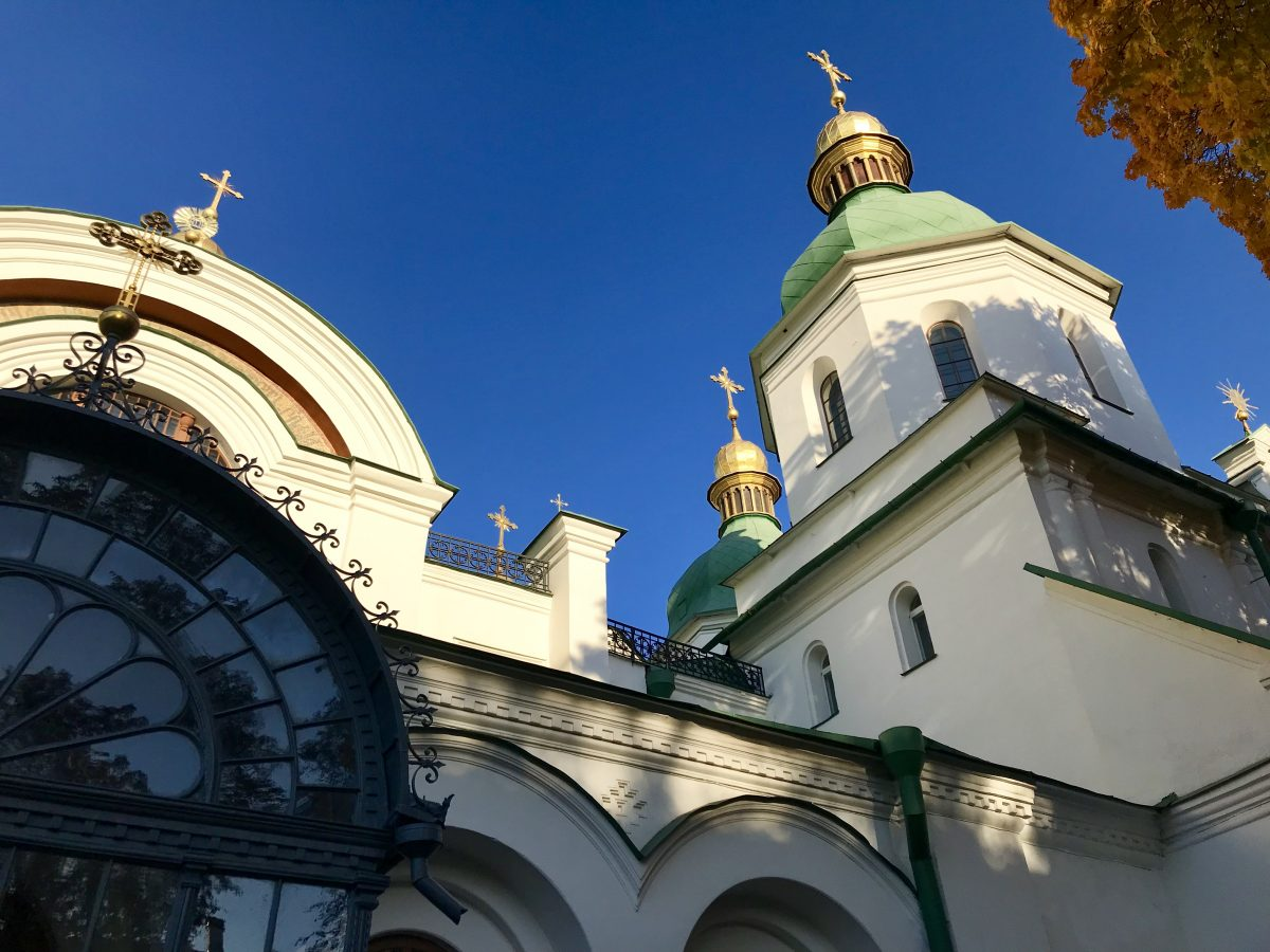 Visiting Kiev on a Viking River cruise