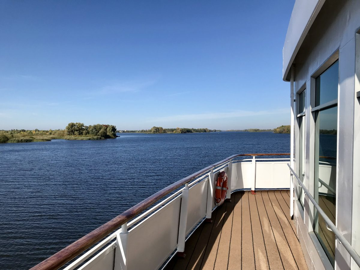 Viking River Cruises on serene Dnieper