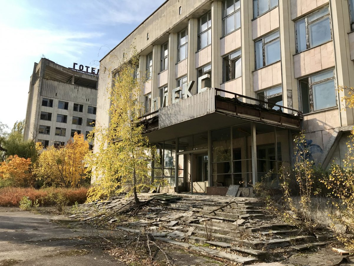 Chernobyl visit on a Viking river cruise