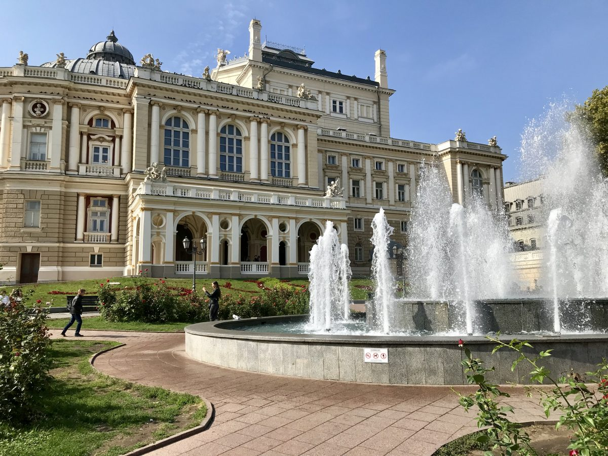 VIking River Cruises stop in Odessa