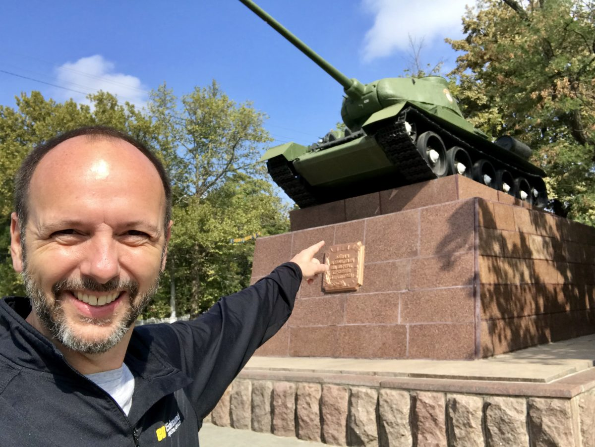 Viking River cruise to see Soviet-era tanks