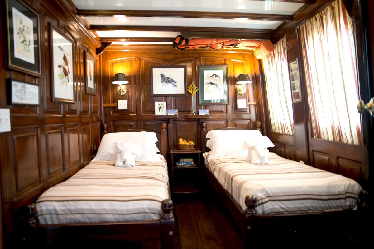 twin Cabin with Amazon Nature Tours' Tucano