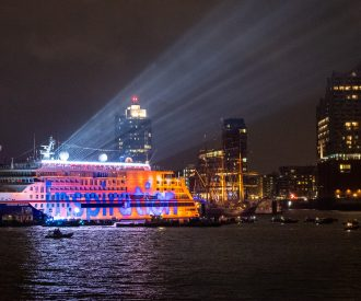 Hapag-Lloyd's New Expedition Ship in Hamburg