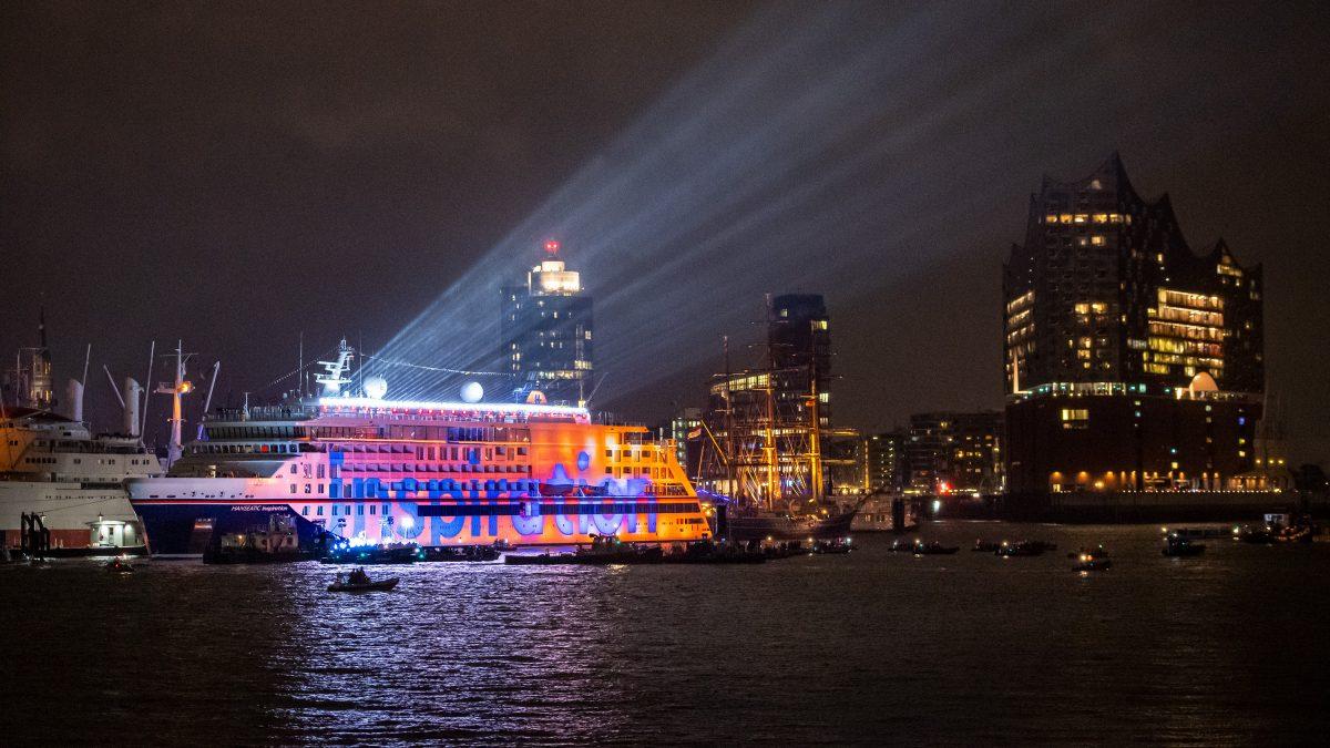Hapag-Lloyd's New Expedition Ship in Hamburg