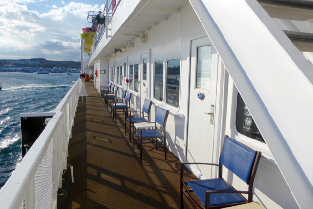 Great Lakes Cruising with Promenade view
