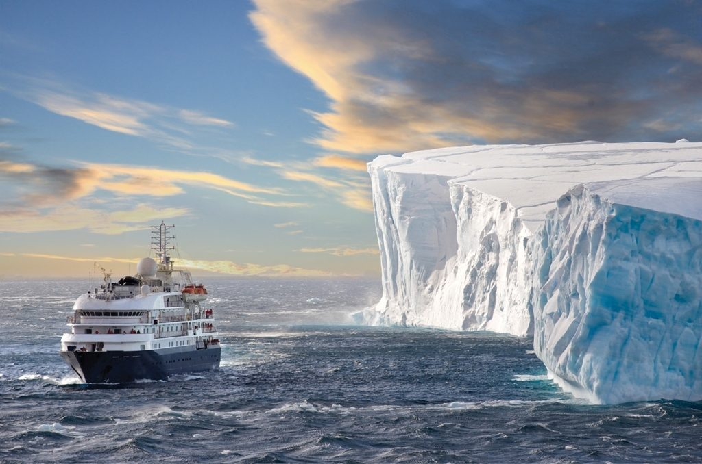 The Corinthian in Antarctica